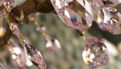 chandelier pink1 e1500655551736 | International Crystal Exchange