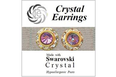 earrings home | International Crystal Exchange